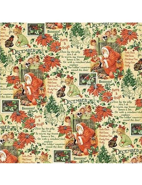 Graphic 45 Children's Hour, December Montage