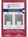 "Spellbinders M-Bossabilities 5""X7"" Card Embossing Folder Quiltworks"