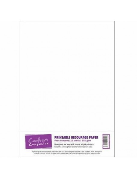 Crafter's Companion Printable Deoupage Paper