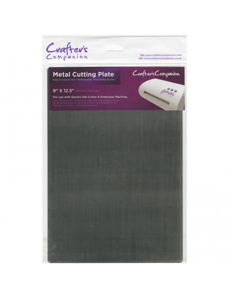 "Crafter's Companion Gemini Metal Cutting Plate 9""X12.5"""