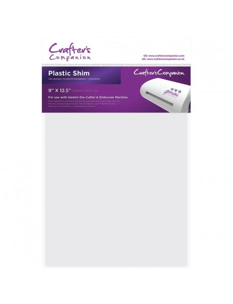 "Crafter's Companion Gemini Plastic Shim 9""X12.5"""