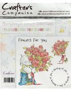 Crafter's Companion sello de caucho Flowers for you