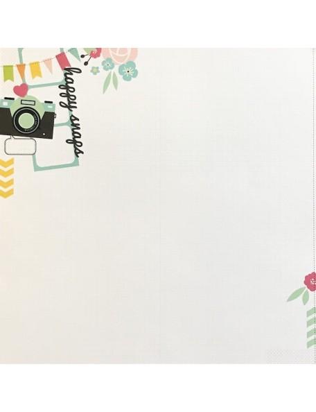 "Papel Photobooth - ""Happy Snaps"", Kaisercraft"