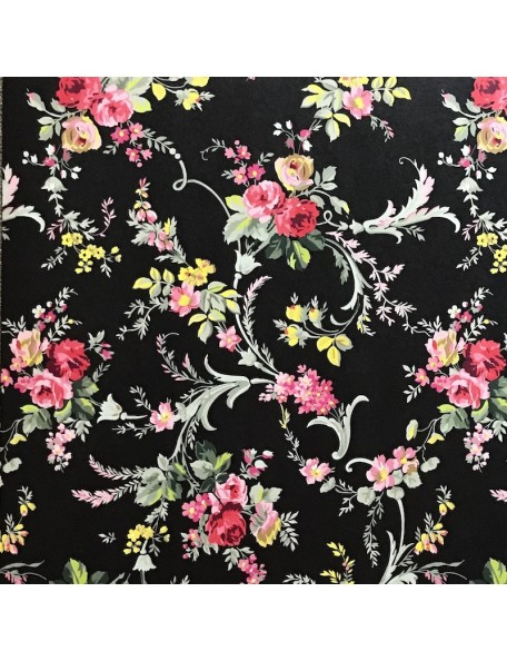 Anna Griffin Grace, Scroll Floral/Black
