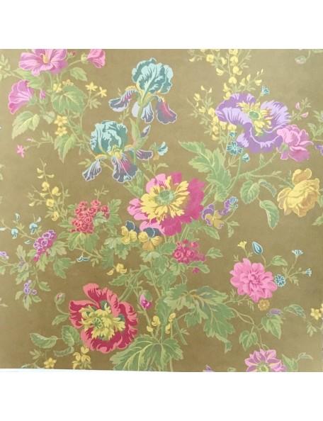 Anna Griffin Olivia, Iris Floral/Brown