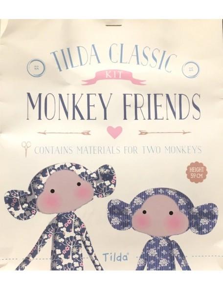 Tilda - Set Monkey 59 cm