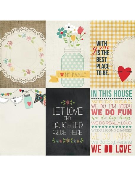 "Simple Stories Homespun, 4""X6"" Vertical Journaling Cards"