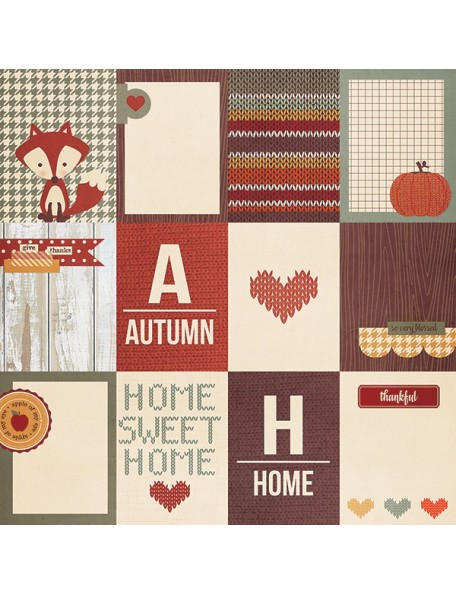 """Simple Stories Sweater Weather Elements, 3""""X4"""" Journaling Cards"""