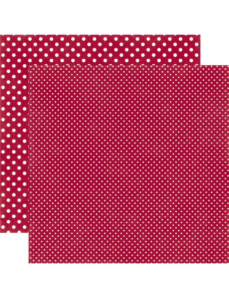 Echo Park Dots&Stripes Christmas, Crimson