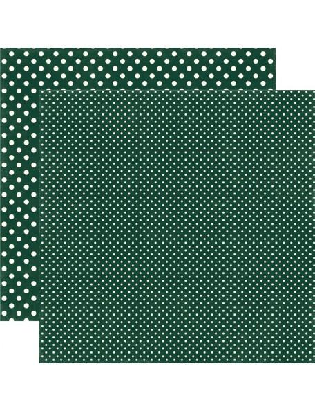 Echo Park Dots&Stripes Fall, Evergreen