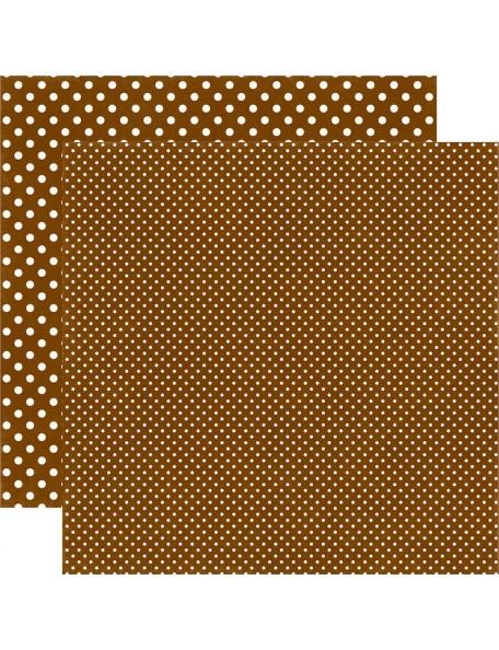 Echo Park Dots&Stripes Fall, Walnut
