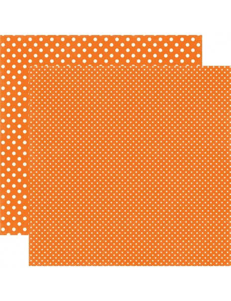 Echo Park Dots&Stripes Fall, Pumpkin