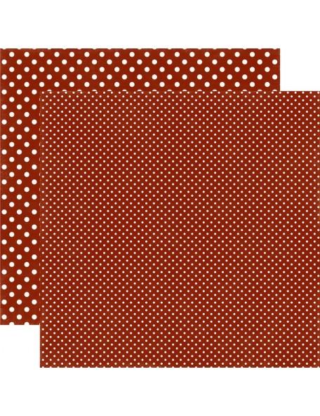 Echo Park Dots&Stripes Fall, Brick