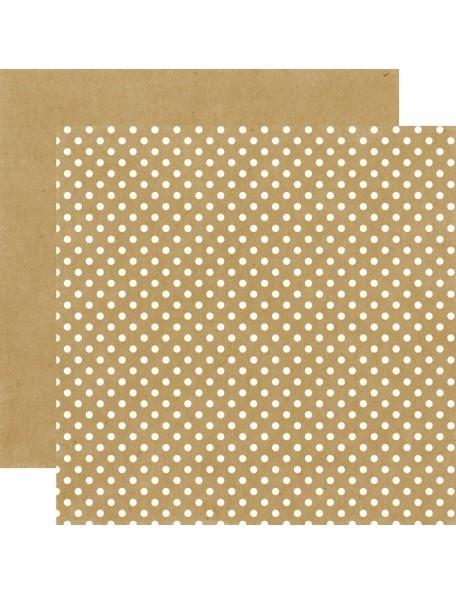 Echo Park Dots&Stripes Neutrals, Kraft