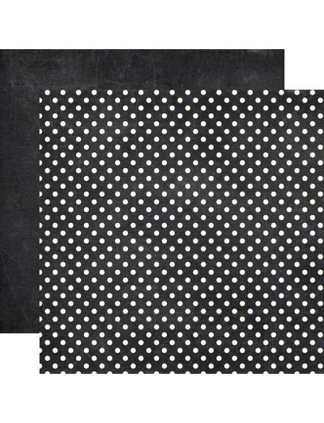 Echo Park Dots&Stripes Neutrals, Chalkboard
