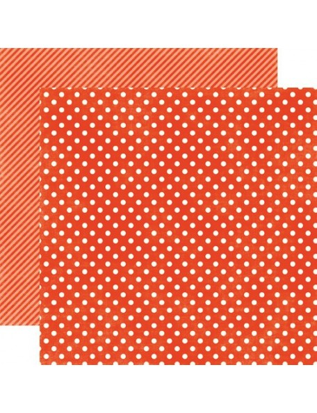 Echo Park Dots&Stripes Homefront, Ladybug Small Dots