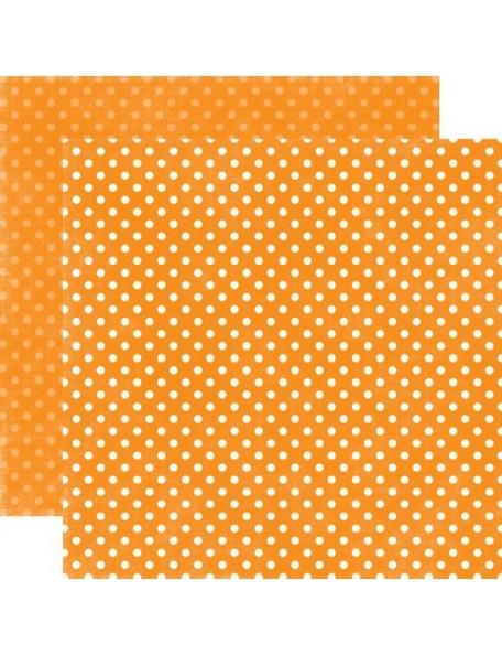 Echo Park Dots, Mango Small Dots