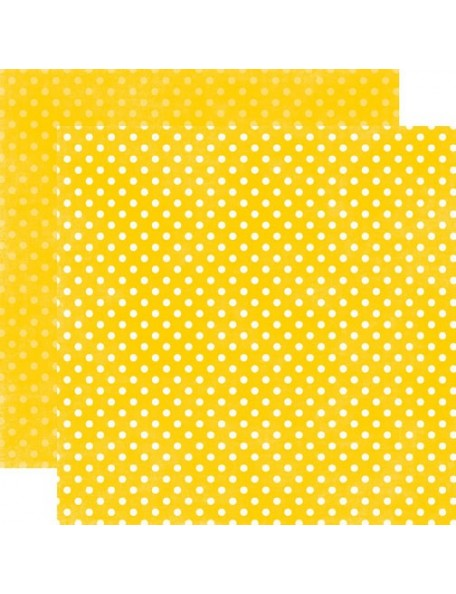 Echo Park Dots, Lemon Drop Small Dots