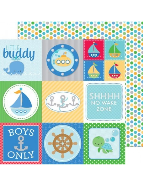 Doodlebug Anchors Aweigh, Buoy O'buoy