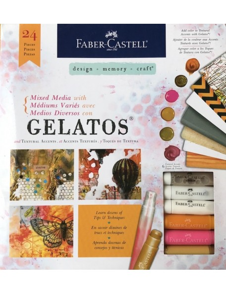 Faber Castell Mix & Match Mixed Media With Gelatos Kit