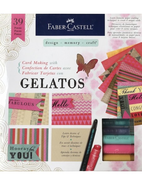 Faber Castell Mix & Match Card Making With Gelatos Kit