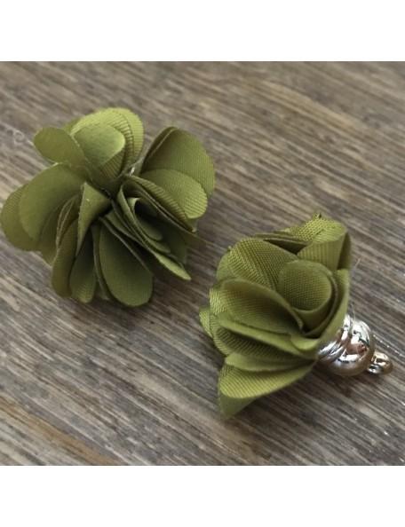 Satwa Flor Decorativa Verde Oliva