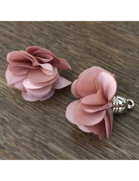 Satwa Flor Decorativa Rosa Vintage/1Pza