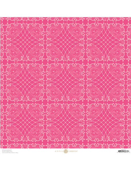 Anna Griffin Juliet, Circles Hot Pink