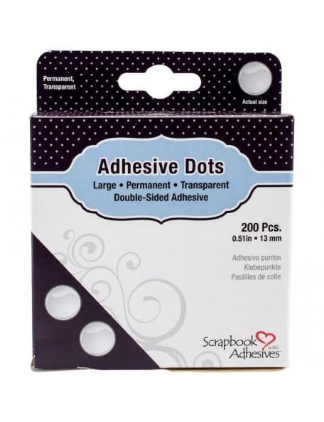 Scrapbook Adhesives Large Dots 200