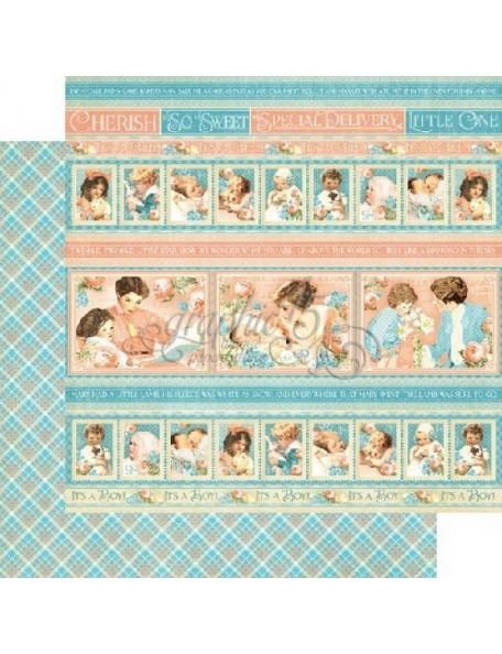Graphic 45 Precious Memories, Cuddle Time