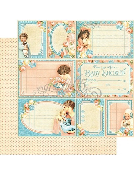 Graphic 45 Precious Memories, Cutie Pie