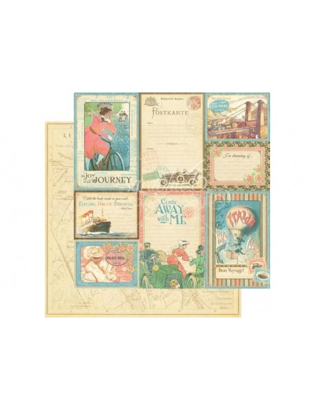 Graphic 45 Come Away With Me, Vintage Voyage