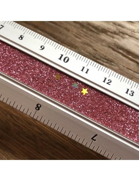 Satwa Regal Aluminio con Purpurina ROSA 30cm