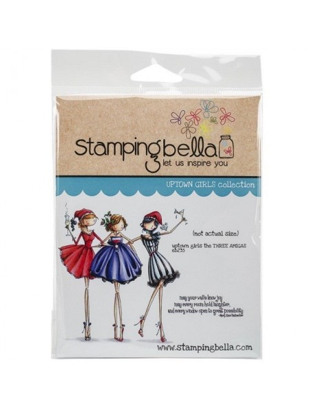 Stamping Bella Cling Stamps, The 3 Amigas