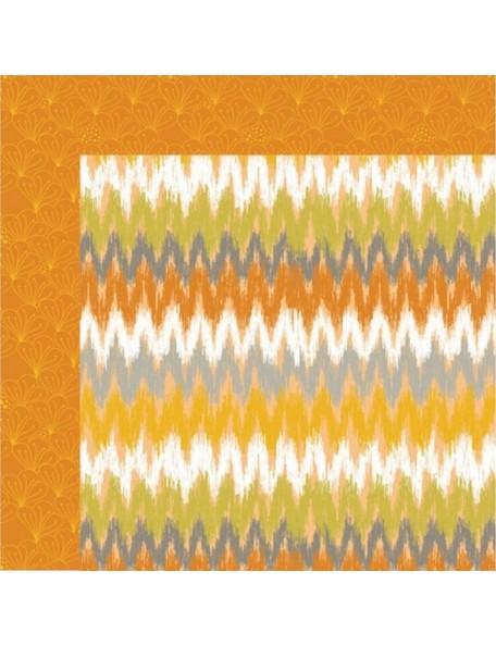 Anna Griffin Blomma, Chevron Orange