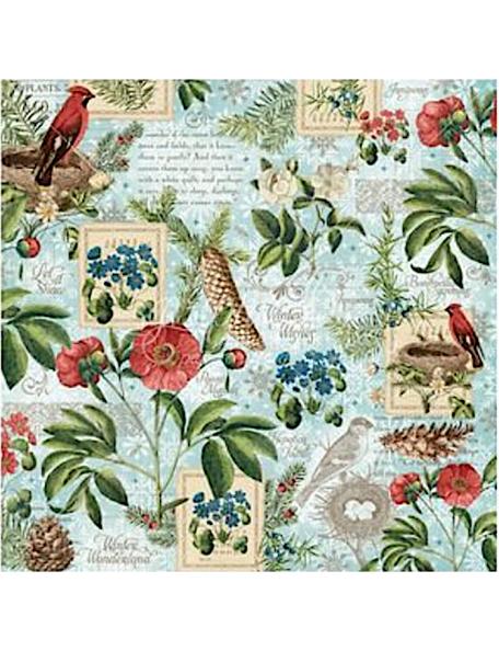Graphic 45 Time To Flourish, January Flourish