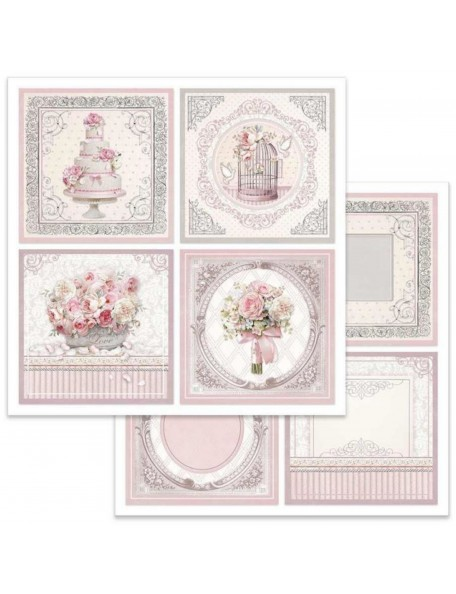 Stamperia Wedding Cards SBB626