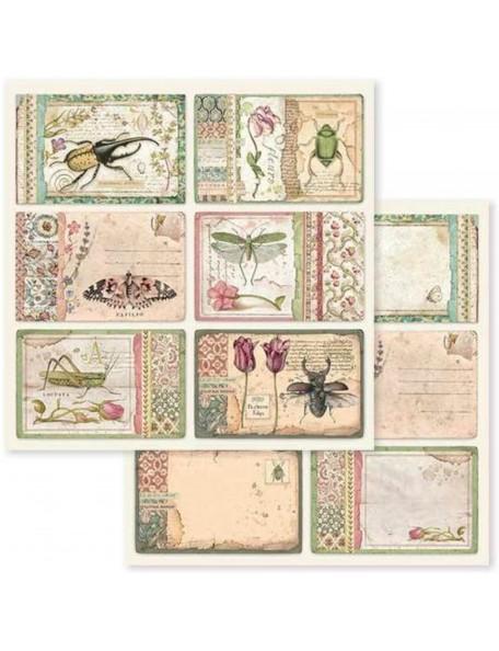 Stamperia Spring Botanic Cards SBB590
