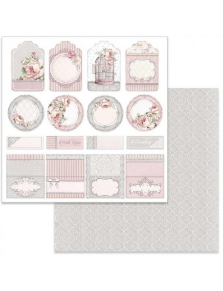 Stamperia Wedding Tag & Placeholder, SBB628