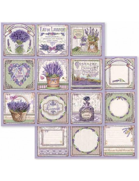 Stamperia Provence Cards SBB593