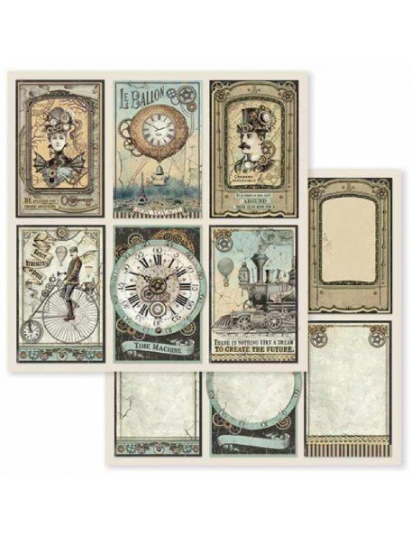 Stamperia Voyages Fantastiques Cards SBB601