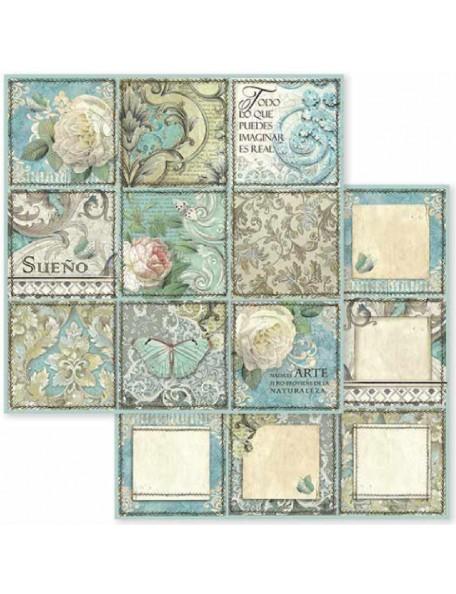 Stamperia Azulejo Sueno SBB605