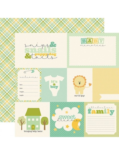 Carta Bella It's A Boy, Journaling Cards