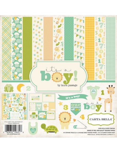 Carta Bella It's A Boy Colecction Kit