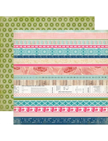 Carta Bella Sew Lovely, Border Strips