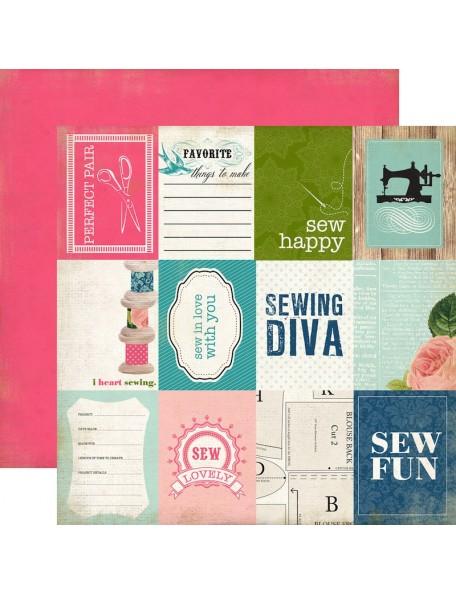 Carta Bella Sew Lovely, Sew Fun