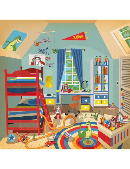 Carta Bella Toy Box, Magic Toy Room