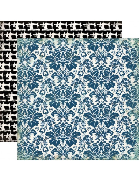 Carta Bella Sew Lovely Darling Damask