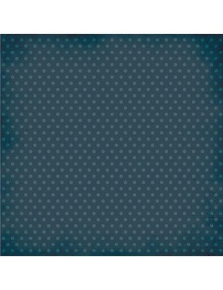 Simple Stories Homespun Navy Dot