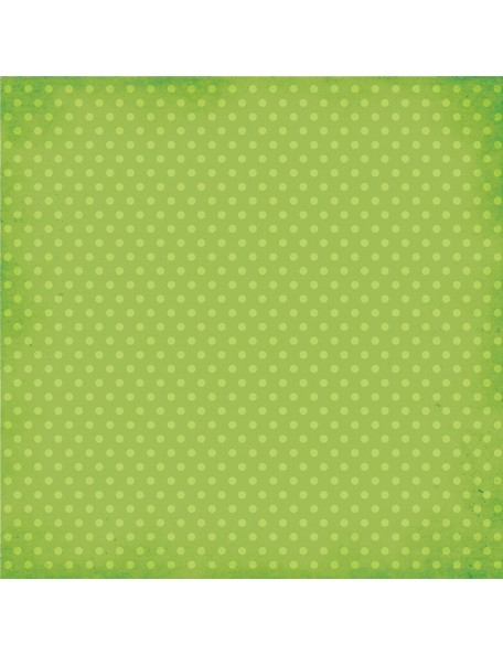 Simple Stories Homespun Green Dots